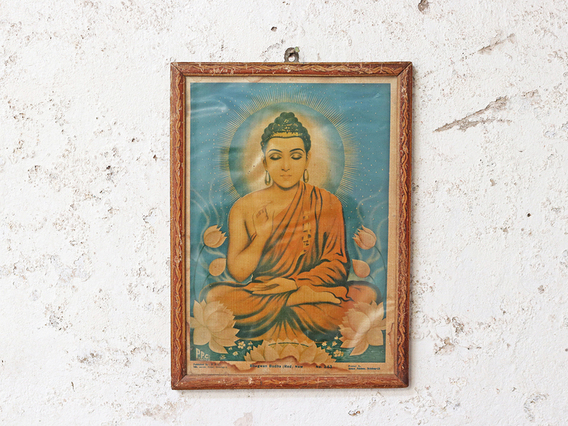 View our  Vintage Indian Print - Buddha from the  Sold collection