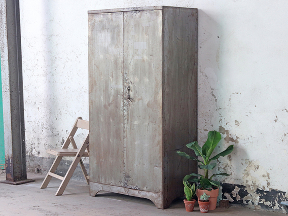 View our  Vintage Industrial Metal Cabinet from the   collection