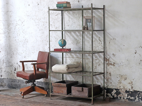 View our  Vintage Storage Shelving Bookcase from the   collection
