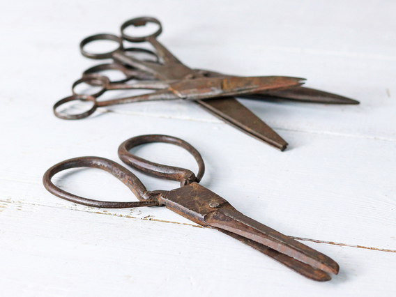 View our  Vintage Metal Scissors - Small from the   collection