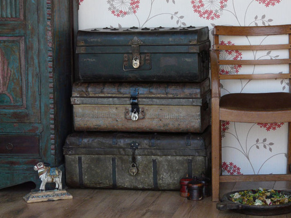 View our  Old Metal Trunk 207 from the   collection