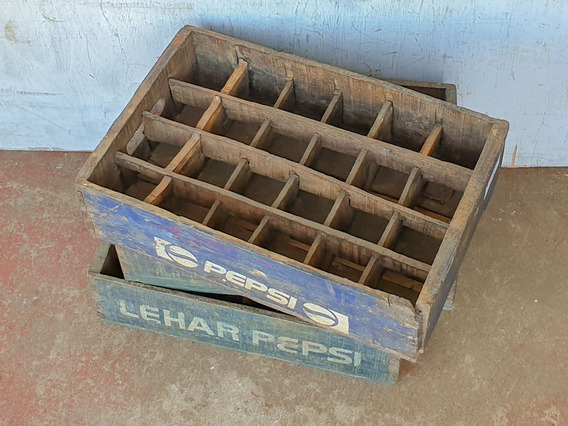 View our  Vintage Pepsi Bottle Crate from the   collection