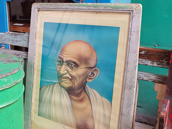 Vintage Print - Mahatma Gandhi