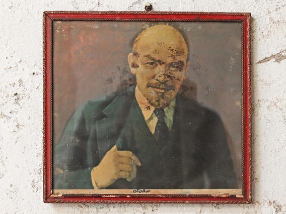 Vintage Print Comrade Lenin