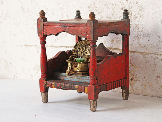 View our  Red Temple Cabinet from the  Sold collection