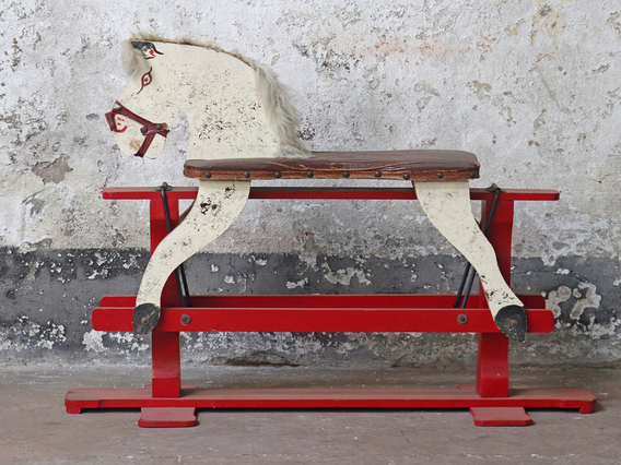 View our  Vintage Rocking Horse from the   collection