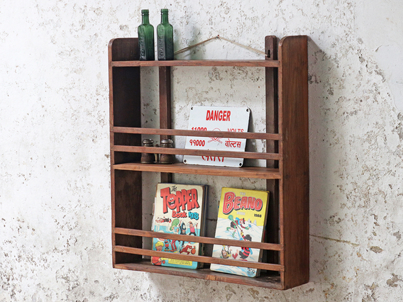 View our  Vintage Wall Shelf - Large from the  Hallway collection