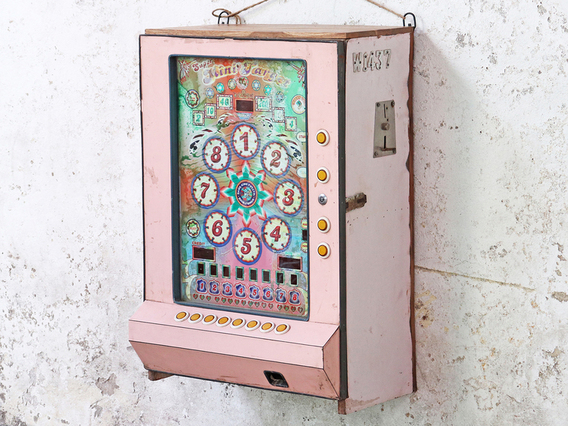View our  Vintage Slot Machine Cabinet from the  Sold collection