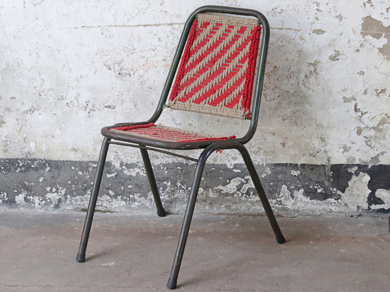 View our  Woven Vintage Stacking Chair from the  Old Chairs, Stools & Benches collection
