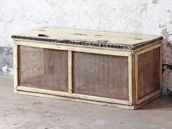View our Vintage Storage Chest from the Shabby Chic Bedroom Furniture collection