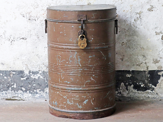 View our  Vintage Storage Drum from the  Bedroom Furniture collection
