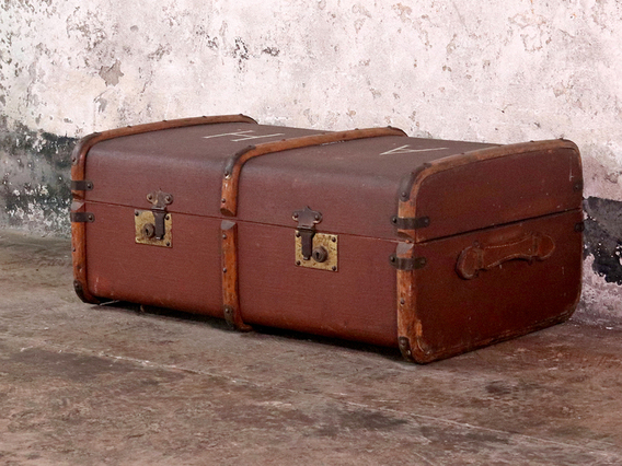 View our  Vintage Streamer Trunk from the  Furniture and Interiors collection