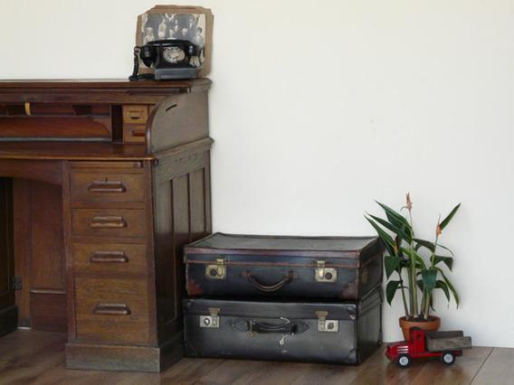 Black Vintage Suitcase 198