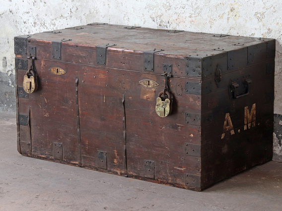 View our  Wooden Trunk from the   collection