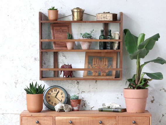 View our  Vintage Wall Shelf - Small from the   collection
