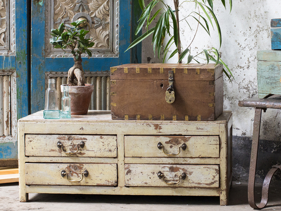 View our  Vintage White Chest Of Drawers from the  Vintage Cabinets & Cupboards collection