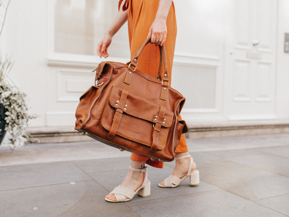 View our Women Weekender Bag from the Women Leather Satchels & Bags collection