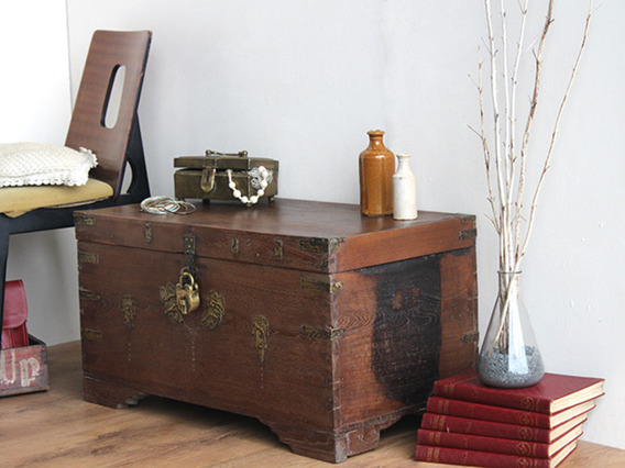 View our  Antique Wedding Chest from the   collection