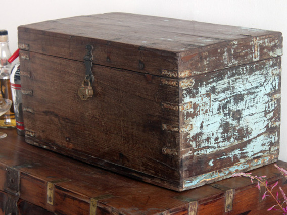 View our  Old Stationery Chest from the  Painted Furniture collection