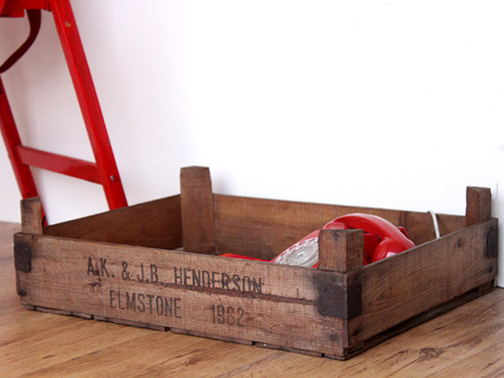 Vintage Apple Crates (Pair)