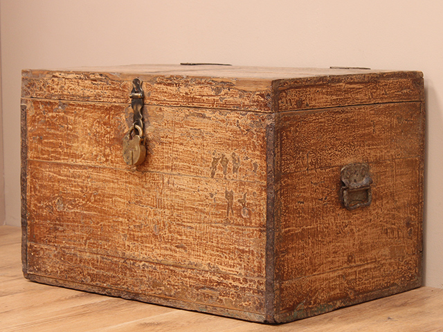 View our  Wooden Travel Chest from the   collection