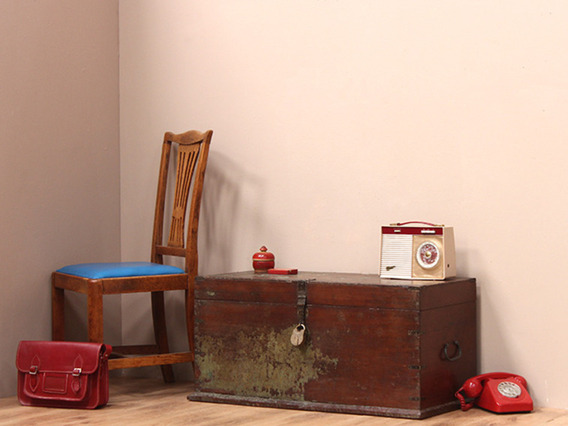 View our Women Old Distressed Green Teak Chest from the Women Sold collection