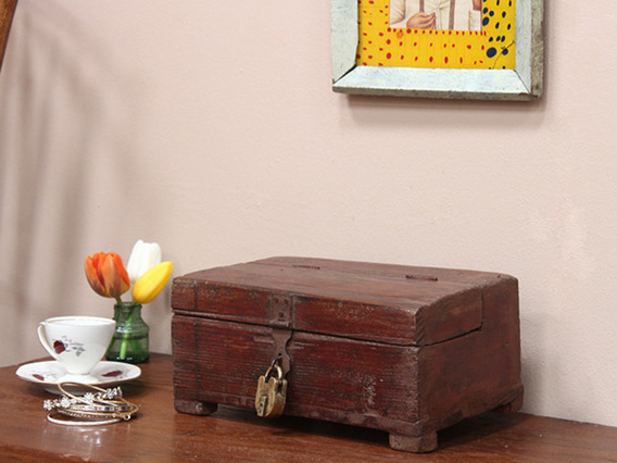 View our Women Vintage Hardwood Trinket Box from the Women Sold collection