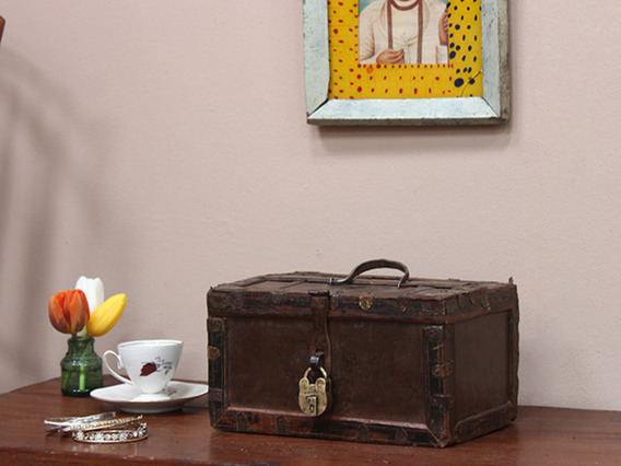 View our Women Vintage Small Trinket Box With Padlock from the Women Sold collection