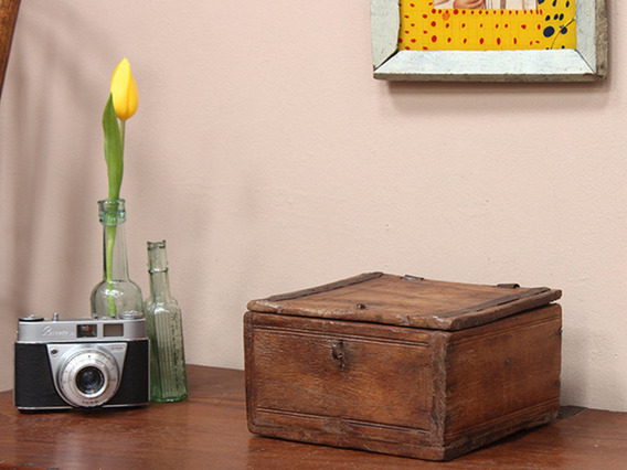 View our Women Vintage Teak Box from the Women Sold collection