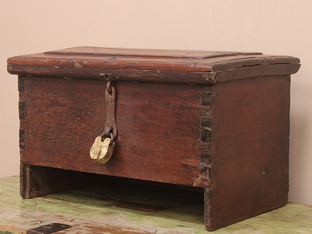 Antique Pirate's Chest