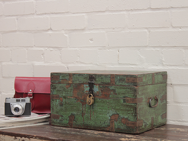 View our Women Old Green Stationery Chest from the Women Sold collection