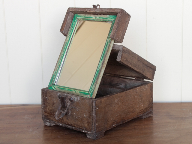 Traditional Barber's Shaving Box