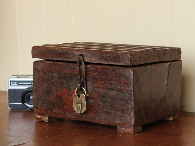 View our Women Old Teak Box With Padlock from the Women Sold collection