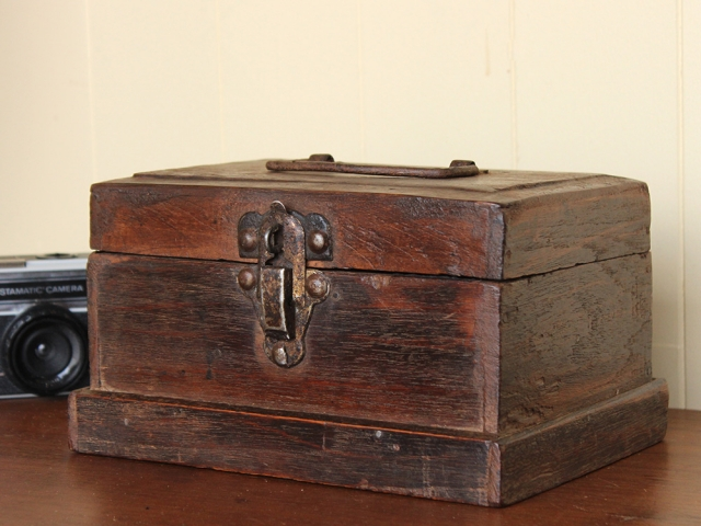 View our Women Old Lockable Teak Box from the Women Sold collection