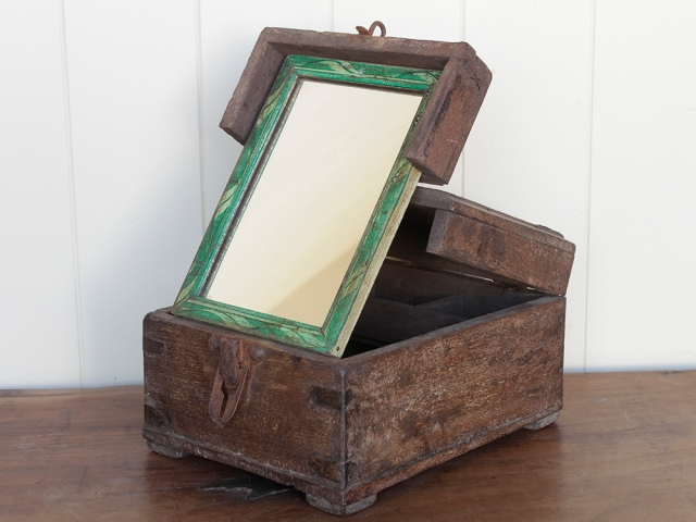 View our  Vintage Barber's Box With Mirror from the   collection