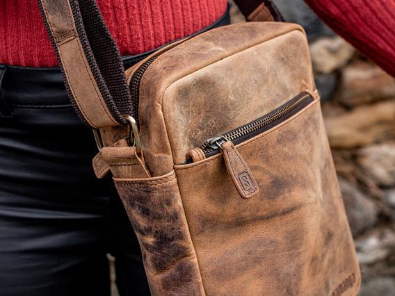 Womens Crossbody Leather Bag