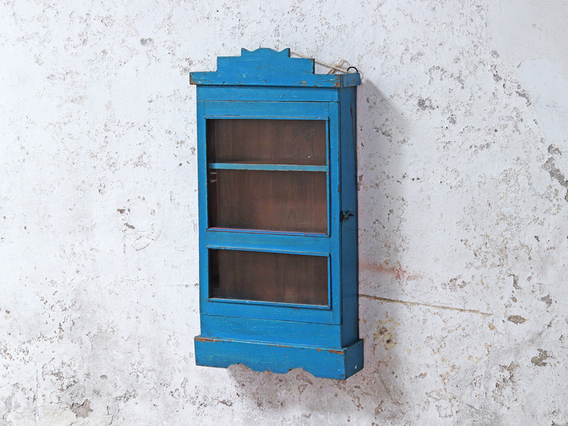 View our  Blue Vintage Bathroom Cabinet from the  Mirrors  collection