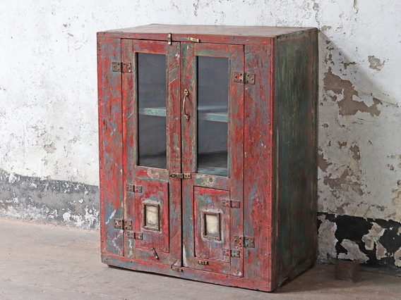 View our  Red Vintage Cupboard from the   collection