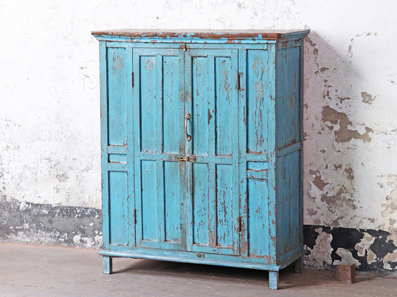 View our  Blue Storage Cupboard from the  Hallway collection