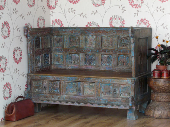 Old Wooden Sofa 2