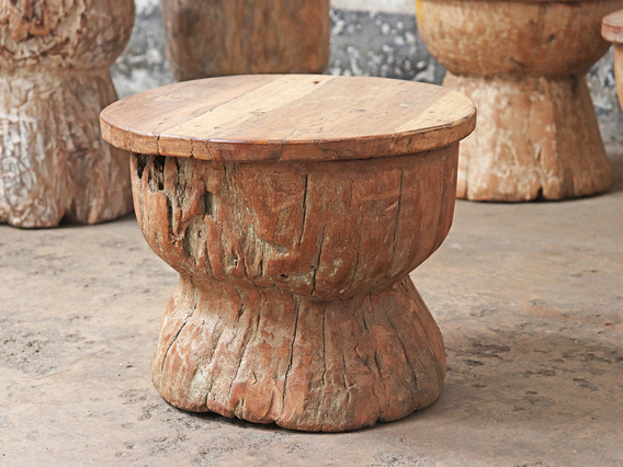 Wooden Block Stool/Table (Large)