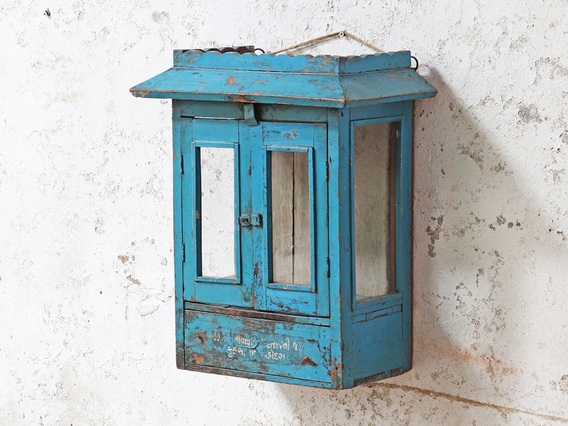 View our  Vintage Blue Display Case from the   collection