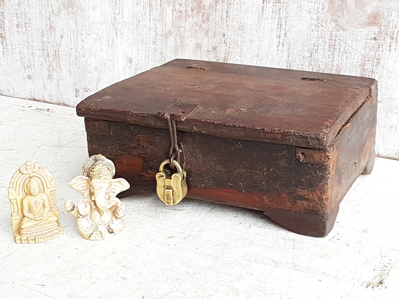 Old Small Wooden Box