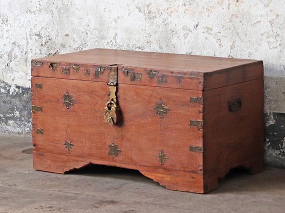 Antique Wooden Chest