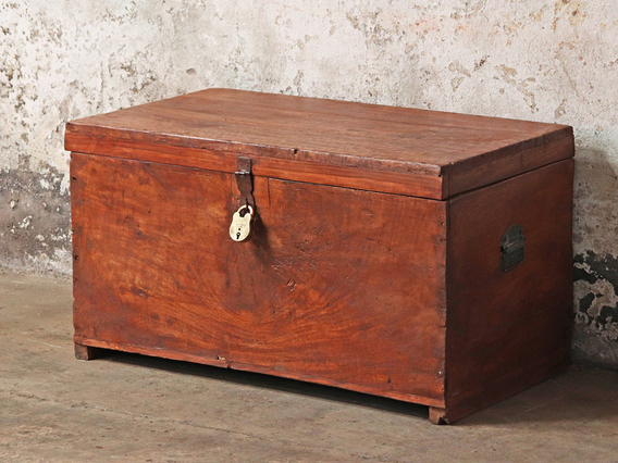 Large Rustic Storage Chest