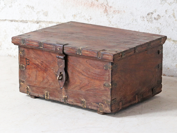 View our  Miniature Treasure Chest from the   collection