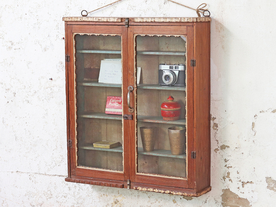 View our  Vintage Shop Display Cabinet from the  Sold collection