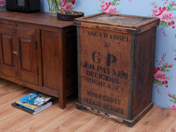 View our  Vintage Wooden Chocolate Packing Crate 1000 from the   collection