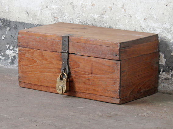 View our  Vintage Jewellery Box from the  Wooden Storage Chests collection