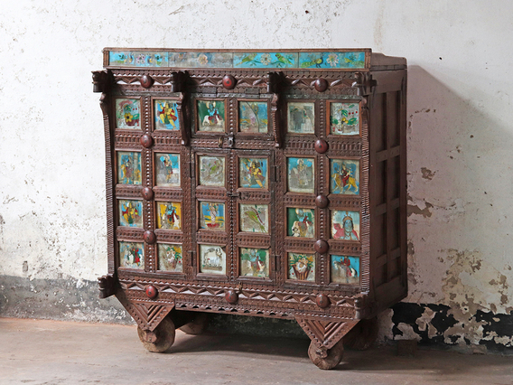 View our  Wooden Antique Damchiya from the   collection